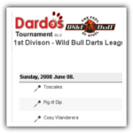 Dardos tournament